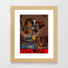 The Devil Tarot Framed Art Print
