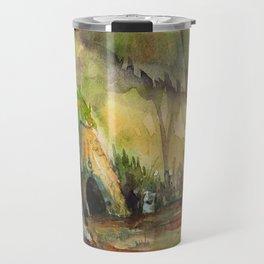 Forest Shrine Travel Mug