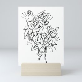 Buquet De Rosas Mini Art Print