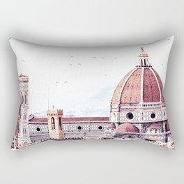 Brunelleschi's masterpiece Rectangular Pillow