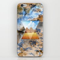 egypt iPhone & iPod Skins featuring EGYPT by sametsevincer