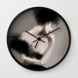Couture Beauty Wall Clock