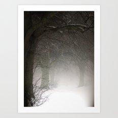 Haunted Memories Art Print