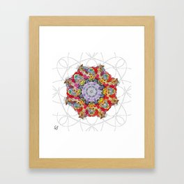 Perfect imperfection Framed Art Print