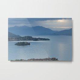 Majestic Lake Maggiore Metal Print