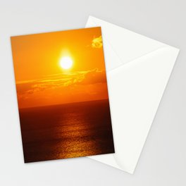 Sea sunset Stationery Cards