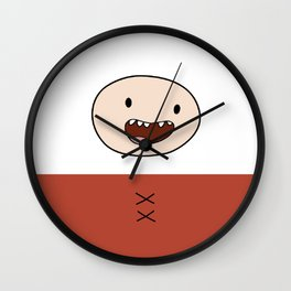 Finn Night Clothes Iphone Case Wall Clock