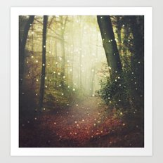 Forest of Miracles and Wonder Art Print