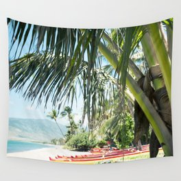 Aloha Sugar Beach Wall Tapestry
