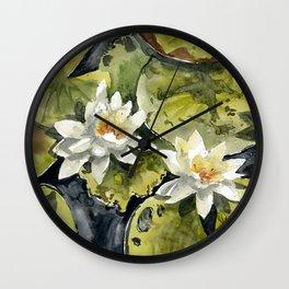 akwarelka 50 Wall Clock