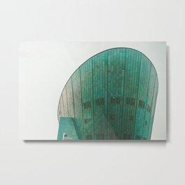 Amsterdam NEMO museum Metal Print
