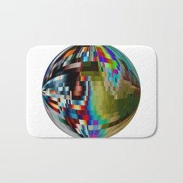 Pixelation  Bath Mat