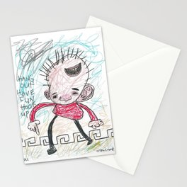 Hang Out Have Fun Hook Up Stationery Cards