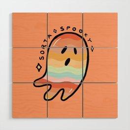 Rainbow Sorta Spooky © Wood Wall Art