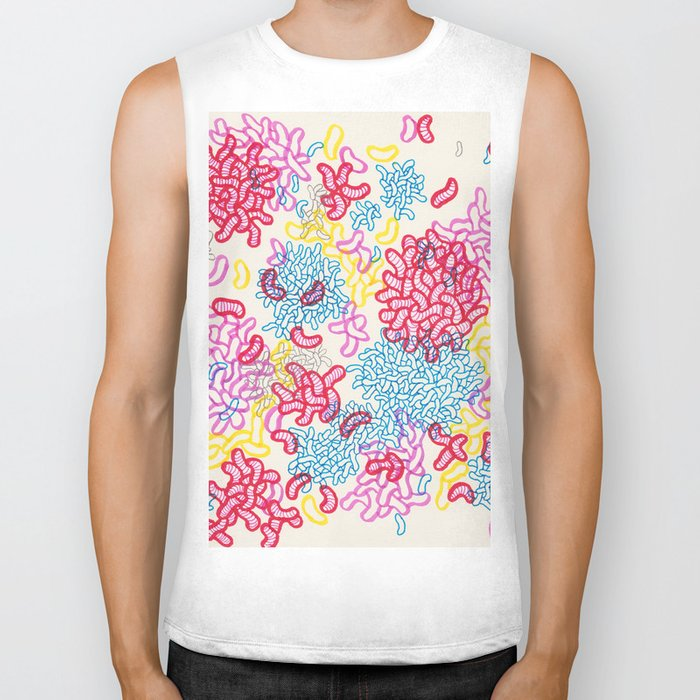 Party Painting Biker Tank