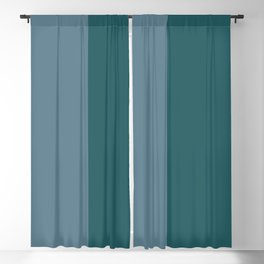 Parable to Behr Blueprint Color of the Year and Accent Colors Vertical Stripes 2 Blackout Curtain