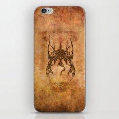 Zodiac:  Scorpio iPhone Skin