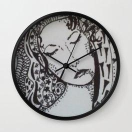 ZENTANGLE SLEEP Wall Clock