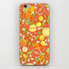 Citrus Squeeze iPhone & iPod Skin