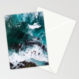 Aerial Ocean View Stationery Cards