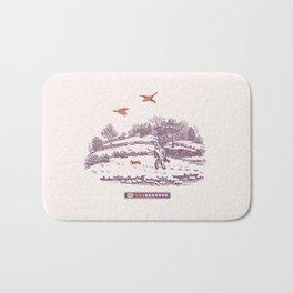 A Vintage Memory Bath Mat