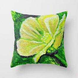 California Poppy - Mazuir Ross Throw Pillow