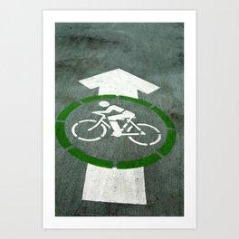 Bikes! Art Print