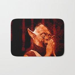DalaiYOda - RED Bath Mat