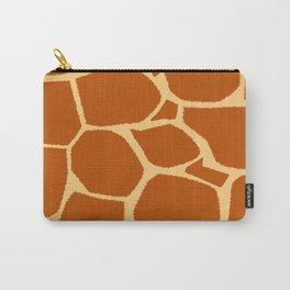 Giraffe print pattern Carry-All Pouch
