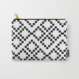 Monocrom pattern Carry-All Pouch