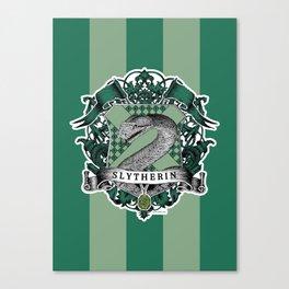 Slytherin Color Canvas Print