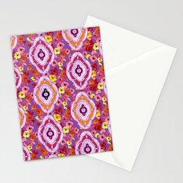 Pink, Orange, Purple Pattern Stationery Cards