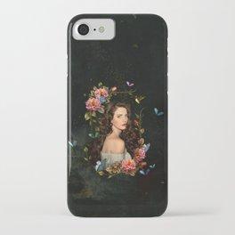 Lana butterflies iPhone Case