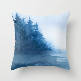 Winter scenery #7 Throw Pillow