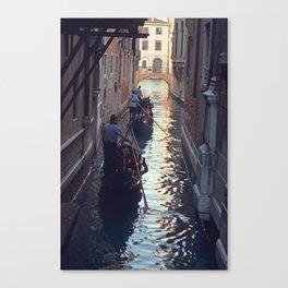 Gondola at Dusk Canvas Print