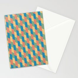 Pastel Parallelograms Stationery Cards