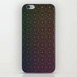 Space Desert Grid iPhone Skin