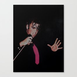 ELVIS AFTER DARK Canvas Print