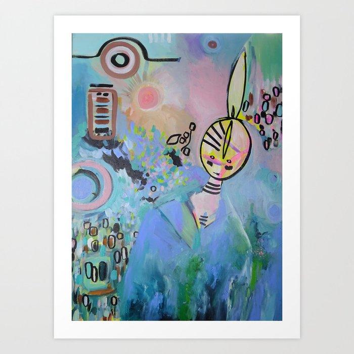 Saaskia Art Print