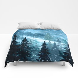 Winter Night Comforters