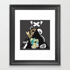 Nightmare Mash Framed Art Print