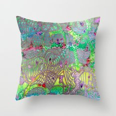 Do you see what I see? Throw Pillow