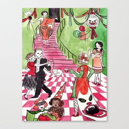 Hausu Canvas Print