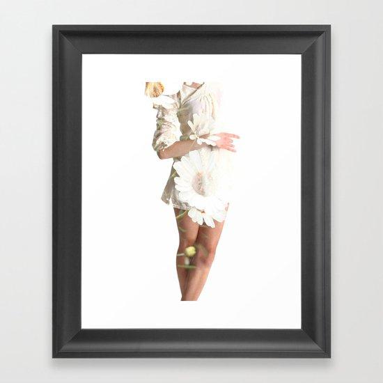 Daisy Dance Framed Art Print