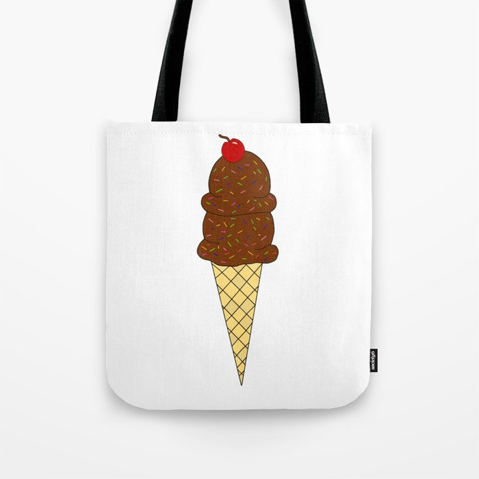 Two Scoops Tote Bag