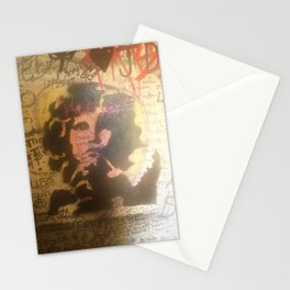 The Doors Morrison Graffiti Room 32 Stationery Cards