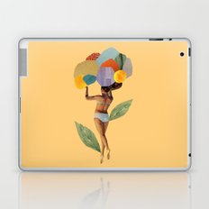 i walk out in the flowers and feel better Laptop & iPad Skin