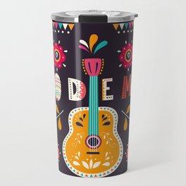 Cinco de Mayo – Guitar Travel Mug