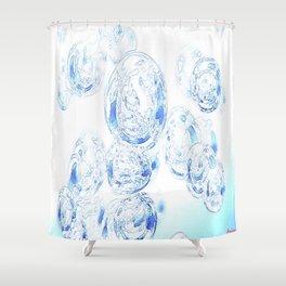 refreshing effervescence Shower Curtain