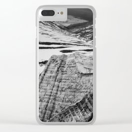 Wild Notebook Clear iPhone Case